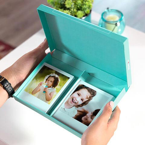 Box Portafoto Vintage